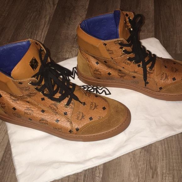 MCM Shoes   Mens Mcm High Tops   Poshmark